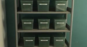 Stockage de prélèvement pour l'évaluation périodique Amiante