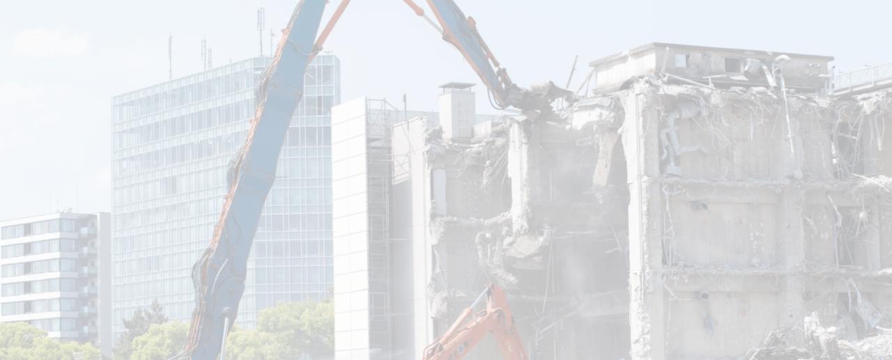 Repérer l'amiante avant la démolition d'un bâtiment