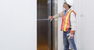 inspection finale pour Marquage CE d'un ascenseur